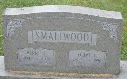 SMALLWOOD, OLIVE B. - Warren County, Ohio | OLIVE B. SMALLWOOD - Ohio Gravestone Photos
