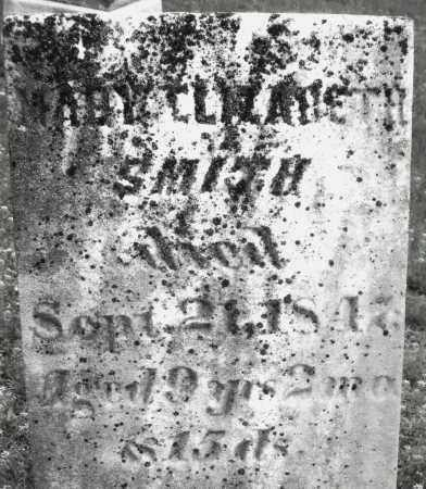 SMITH, MARY ELIZABETH - Warren County, Ohio | MARY ELIZABETH SMITH - Ohio Gravestone Photos
