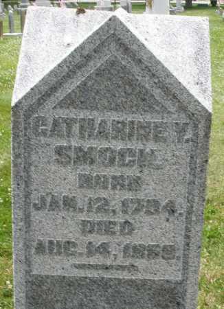 SMOCK, CATHARINE V. - Warren County, Ohio | CATHARINE V. SMOCK - Ohio Gravestone Photos