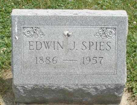 SPIES, EDWIN J. - Warren County, Ohio | EDWIN J. SPIES - Ohio Gravestone Photos