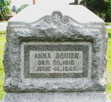 SQUIER, ANNA - Warren County, Ohio | ANNA SQUIER - Ohio Gravestone Photos