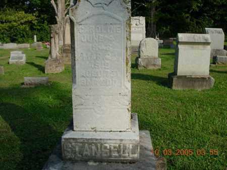 STANSELL, CAROLINE - Warren County, Ohio | CAROLINE STANSELL - Ohio Gravestone Photos