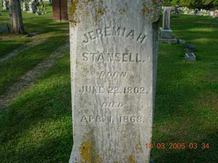STANSELL, JEREMIAH - Warren County, Ohio | JEREMIAH STANSELL - Ohio Gravestone Photos