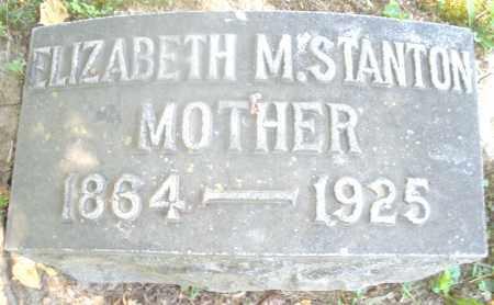 STANTON, ELIZABETH M. - Warren County, Ohio | ELIZABETH M. STANTON - Ohio Gravestone Photos