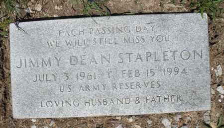 STAPLETON, JIMMY DEAN - Warren County, Ohio | JIMMY DEAN STAPLETON - Ohio Gravestone Photos