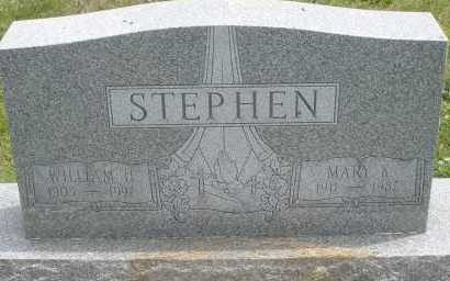 STEPHEN, WILLIAM H. - Warren County, Ohio | WILLIAM H. STEPHEN - Ohio Gravestone Photos