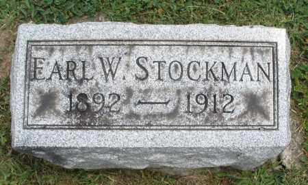 STOCKMAN, EARL W. - Warren County, Ohio | EARL W. STOCKMAN - Ohio Gravestone Photos
