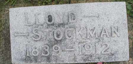 STOCKMAN, LLOYD - Warren County, Ohio | LLOYD STOCKMAN - Ohio Gravestone Photos