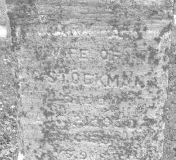 STOCKMAN, MARY A. - Warren County, Ohio | MARY A. STOCKMAN - Ohio Gravestone Photos
