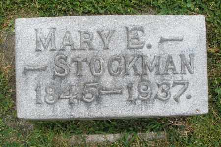 STOCKMAN, MARY E. - Warren County, Ohio | MARY E. STOCKMAN - Ohio Gravestone Photos