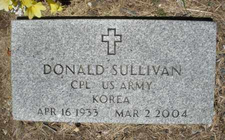 SULLIVAN, DONALD - Warren County, Ohio | DONALD SULLIVAN - Ohio Gravestone Photos