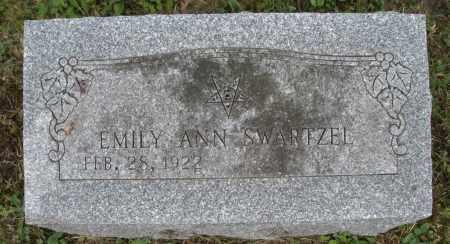 SWARTZEL, EMILY ANN - Warren County, Ohio | EMILY ANN SWARTZEL - Ohio Gravestone Photos