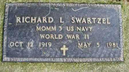 SWARTZEL, RICHARD L. - Warren County, Ohio | RICHARD L. SWARTZEL - Ohio Gravestone Photos