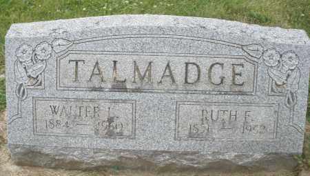 TALMADGE, RUTH F. - Warren County, Ohio   RUTH F. TALMADGE - Ohio Gravestone Photos