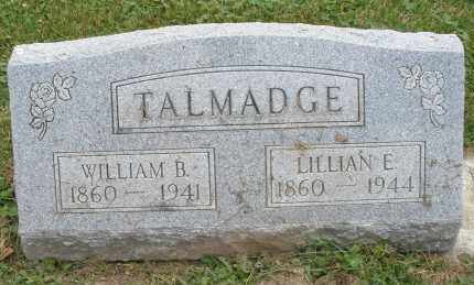 TALMADGE, WILLIAM B. - Warren County, Ohio | WILLIAM B. TALMADGE - Ohio Gravestone Photos