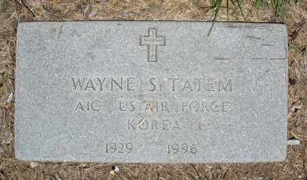 TATEM, WAYNE S. - Warren County, Ohio | WAYNE S. TATEM - Ohio Gravestone Photos