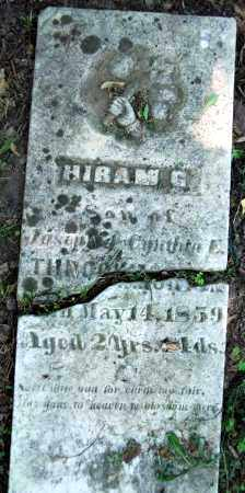 THROCKMORTON, HIRAM G. - Warren County, Ohio | HIRAM G. THROCKMORTON - Ohio Gravestone Photos