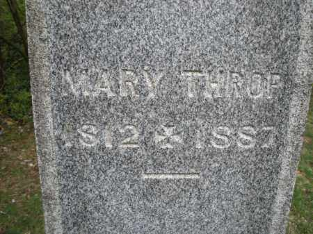 THROP, MARY - Warren County, Ohio | MARY THROP - Ohio Gravestone Photos