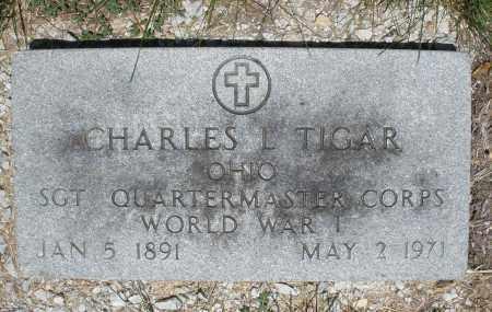 TIGAR, CHARLES   L. - Warren County, Ohio | CHARLES   L. TIGAR - Ohio Gravestone Photos