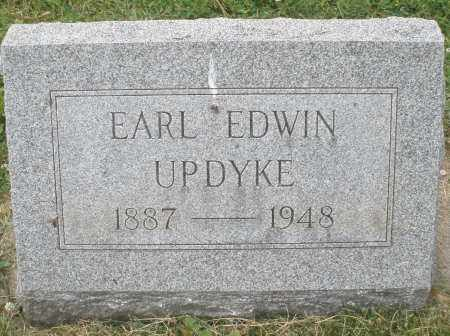 UPDYKE, EARL EDWIN - Warren County, Ohio | EARL EDWIN UPDYKE - Ohio Gravestone Photos