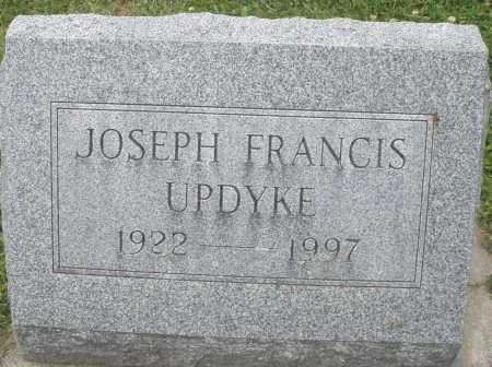 UPDYKE, JOSEPH FRANCIS - Warren County, Ohio | JOSEPH FRANCIS UPDYKE - Ohio Gravestone Photos
