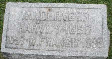VANDERVEER, W. FRANCIS - Warren County, Ohio | W. FRANCIS VANDERVEER - Ohio Gravestone Photos
