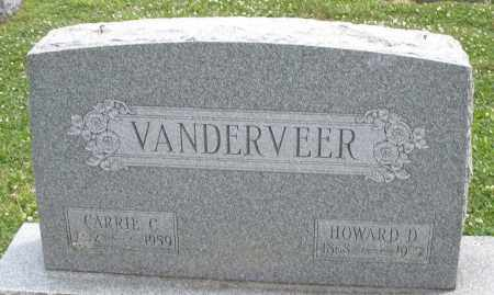 VANDERVEER, CARRIE C - Warren County, Ohio | CARRIE C VANDERVEER - Ohio Gravestone Photos