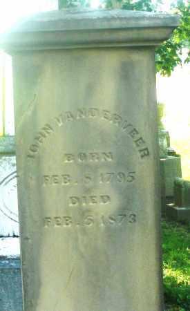 VANDERVEER, JOHN - Warren County, Ohio | JOHN VANDERVEER - Ohio Gravestone Photos