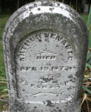VENABLE, ARTHUR - Warren County, Ohio | ARTHUR VENABLE - Ohio Gravestone Photos