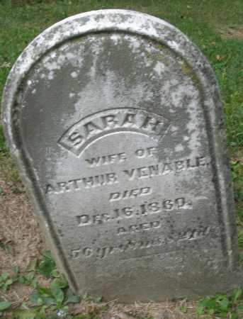 VENABLE, SARAH - Warren County, Ohio | SARAH VENABLE - Ohio Gravestone Photos