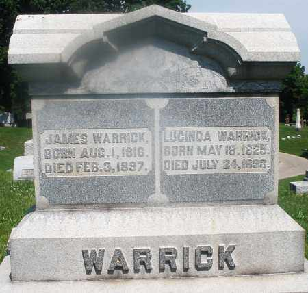 WARRICK, LUCINDA - Warren County, Ohio | LUCINDA WARRICK - Ohio Gravestone Photos