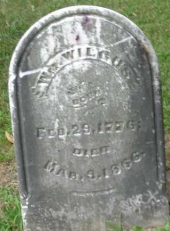 WILGUS, WILLIAM - Warren County, Ohio | WILLIAM WILGUS - Ohio Gravestone Photos