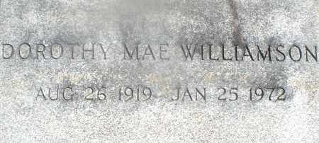 WILLIAMSON, DOROTHY MAE - Warren County, Ohio | DOROTHY MAE WILLIAMSON - Ohio Gravestone Photos