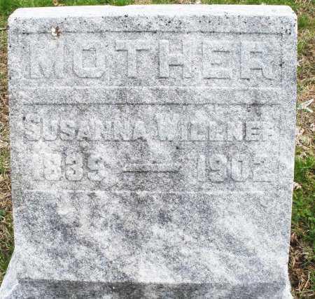 WILLNEF, SUSANNA - Warren County, Ohio | SUSANNA WILLNEF - Ohio Gravestone Photos