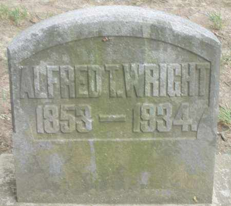 WRIGHT, ALFRED T. - Warren County, Ohio | ALFRED T. WRIGHT - Ohio Gravestone Photos