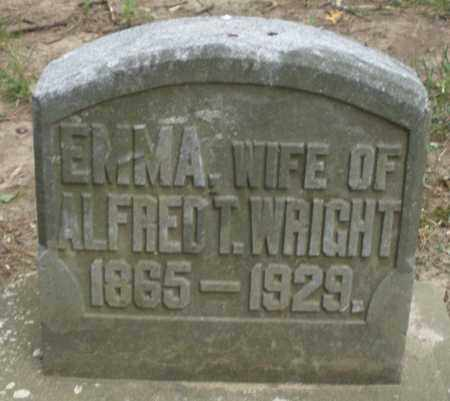 WRIGHT, EMMA - Warren County, Ohio | EMMA WRIGHT - Ohio Gravestone Photos