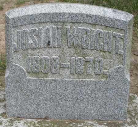 WRIGHT, JOSIAH - Warren County, Ohio | JOSIAH WRIGHT - Ohio Gravestone Photos