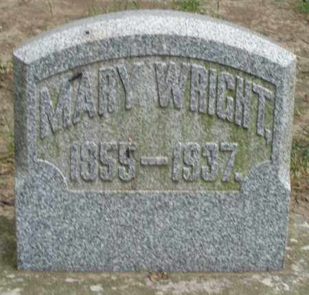 WRIGHT, MARY - Warren County, Ohio | MARY WRIGHT - Ohio Gravestone Photos