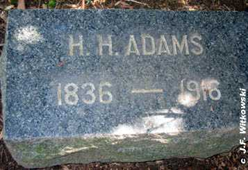 ADAMS, H. H. - Washington County, Ohio | H. H. ADAMS - Ohio Gravestone Photos