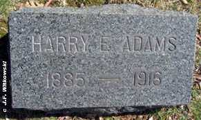 ADAMS, HARRY E. - Washington County, Ohio | HARRY E. ADAMS - Ohio Gravestone Photos