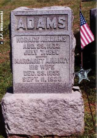 "ADAMS, HORACE AUGUSTUS ""HOD"" - Washington County, Ohio 