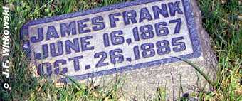 ADAMS, JAMES FRANKLIN - Washington County, Ohio | JAMES FRANKLIN ADAMS - Ohio Gravestone Photos