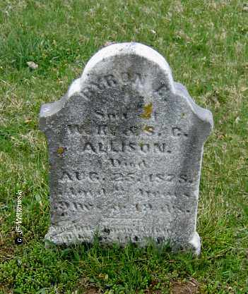 ALLISON, BYRON E. - Washington County, Ohio | BYRON E. ALLISON - Ohio Gravestone Photos