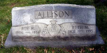 ALLISON, RUTH M. - Washington County, Ohio | RUTH M. ALLISON - Ohio Gravestone Photos