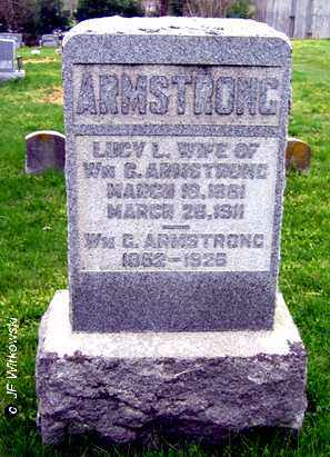 ARMSTRONG, WILLIAM G. - Washington County, Ohio | WILLIAM G. ARMSTRONG - Ohio Gravestone Photos