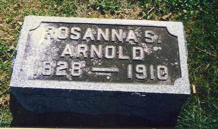 ARNOLD, ROSANNA - Washington County, Ohio | ROSANNA ARNOLD - Ohio Gravestone Photos