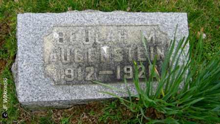 AUGENSTEIN, BEULAH M. - Washington County, Ohio | BEULAH M. AUGENSTEIN - Ohio Gravestone Photos
