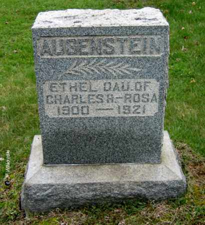 AUGENSTEIN, ETHEL - Washington County, Ohio | ETHEL AUGENSTEIN - Ohio Gravestone Photos