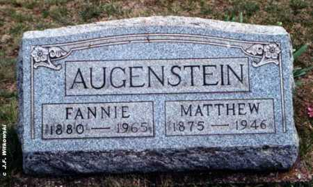 AUGENSTEIN, FANNIE MAE - Washington County, Ohio | FANNIE MAE AUGENSTEIN - Ohio Gravestone Photos
