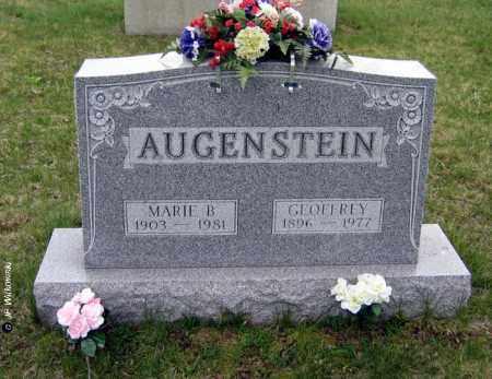 AUGENSTEIN, MARIE - Washington County, Ohio | MARIE AUGENSTEIN - Ohio Gravestone Photos